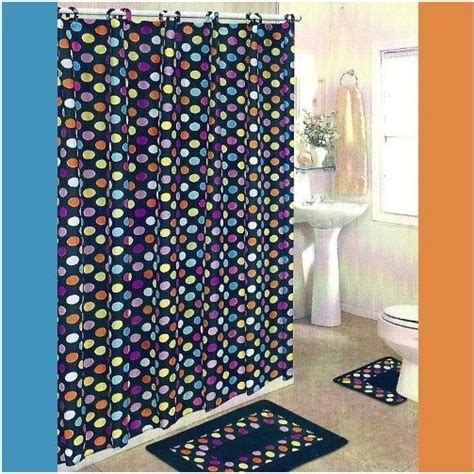 polka dot bathroom sets multi color polka dot bathroom set polka dots