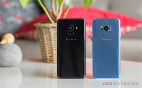 Samsung A8 Review samsung galaxy a8 2018 review gsmarena tests