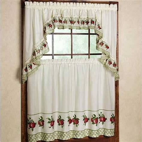 apple kitchen curtains apple kitchen accessories afreakatheart