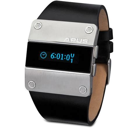 coolest latest gadgets spatially telling time modern coolest gadgets apus oled display watch new technology