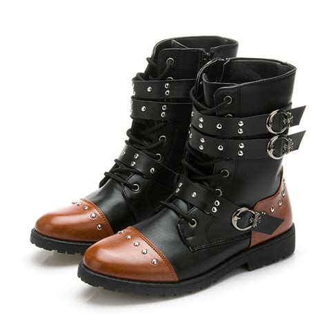 the ankle boots for motorcycle motorcycle boots womens fashion images