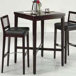 Kitchen Bistro Tables Pub Table In Cherry Modern Bar Tables By Wayfair