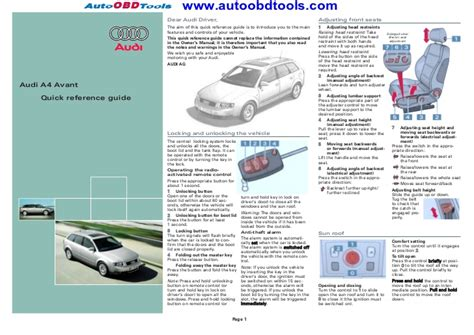 reference diagram audi a4 reference guide diagram user manual