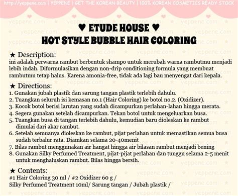 Cat Rambut Etude House buy etude house style hair coloring new cat