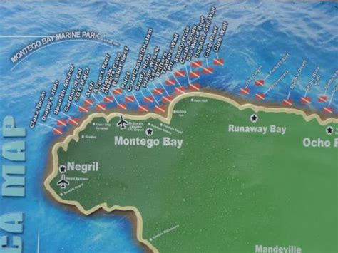 sandals montego bay map dive picture of sandals royal caribbean resort and