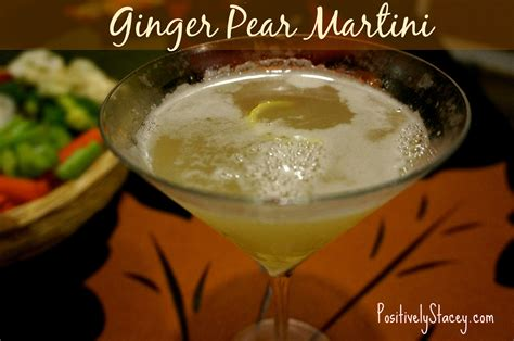 martini ginger ginger pear martinis positively stacey