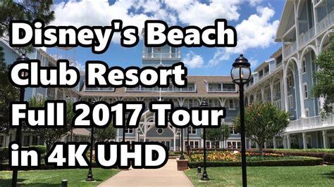 disney s beach club resort full tour in 4k june 2017