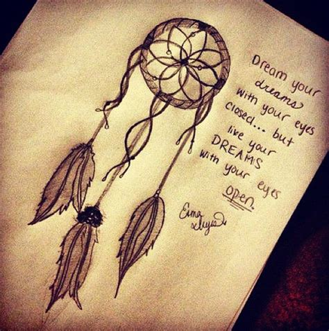 dream tattoo quiz dreamcatcher quote anj and jezzi the aries twins photo