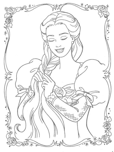 rapunzel coloring pages 20 coloring kids