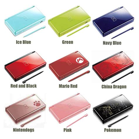 Ds Lite Chargers Get New Colors by New 12 Colors Choose Nintendo Ds Lite Handheld System