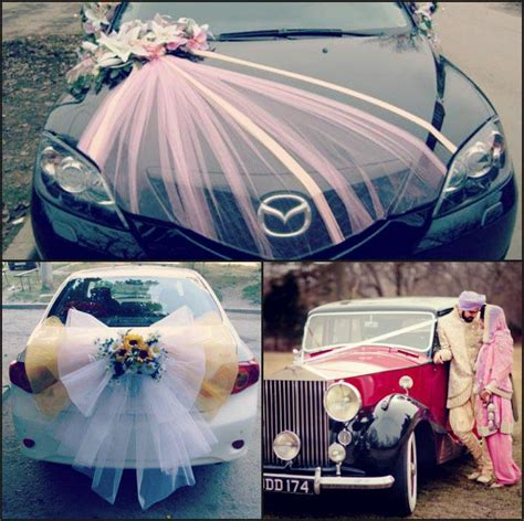 car decorations wedding car decoration 25 fancy ideas to getaway in style