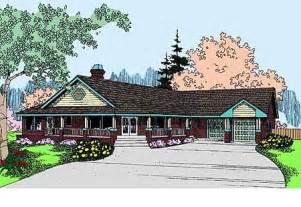 classic rambler ranch home plan 77361ld 1st floor