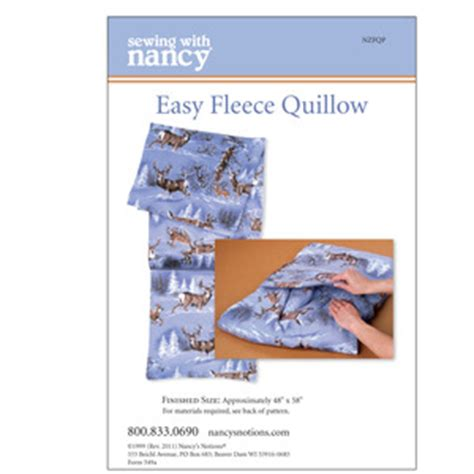 pattern for making a quillow easy fleece quillow pattern download home accessories patterns