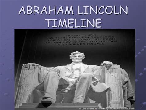 abraham lincoln biography presentation ppt abraham lincoln timeline powerpoint presentation