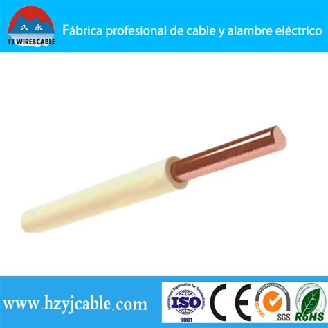 1 5mm 2 5mm 4mm 6mm electric copper conductor pvc coated