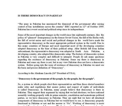Media Politics Essay by Essay Democracy Democracy Essay In Essay Democracy Report Writing Techniques