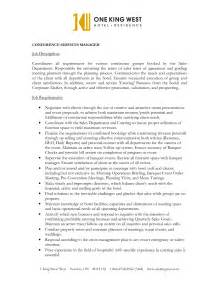 43 creative catering sales manager resume sles for