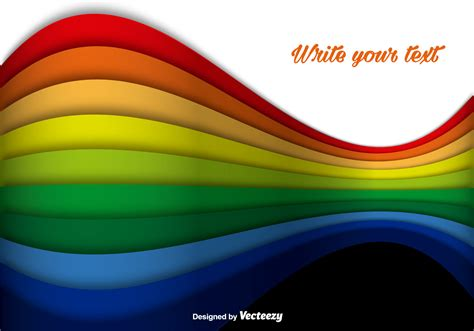 colorful lines abstract rainbow colorful lines vector background
