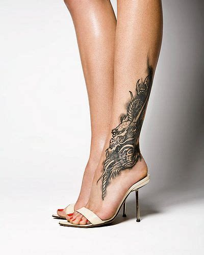 tattoo designs for female legs small for ankle design 27