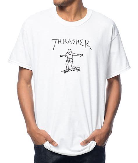 Tshirt Thrasher White thrasher gonz white t shirt