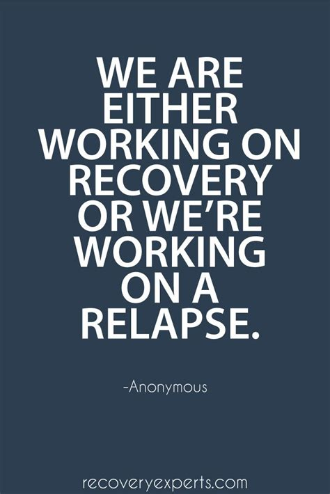 New Day Recovery Detox by Quote On Addiction We Are Either Working On Recovery Or