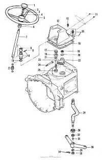 simplicity 2097185 5020 compact diesel tractor parts diagram for steering 3486i65