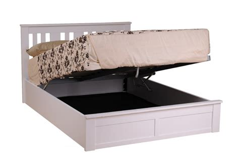 4 foot ottoman beds with mattress sweet dreams coliseum 4ft small double white ottoman lift
