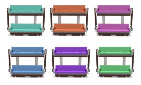 real double decker couch double decker couch at lunararc 187 sims 4 updates