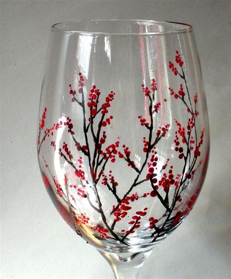 wine glass painting 25 best ideas about painted wine glasses on