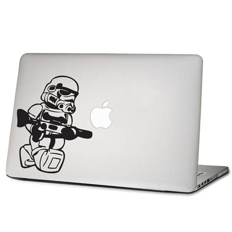 Vinyl Aufkleber Macbook by Wars Stormtrooper Laptop Macbook Vinyl Decal Sticker