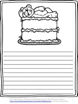 birthday writing paper 201 best images about dibujos para notitas on