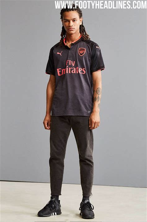 arsenal away kit 17 18 do you like what we know so far about the puma arsenal 17