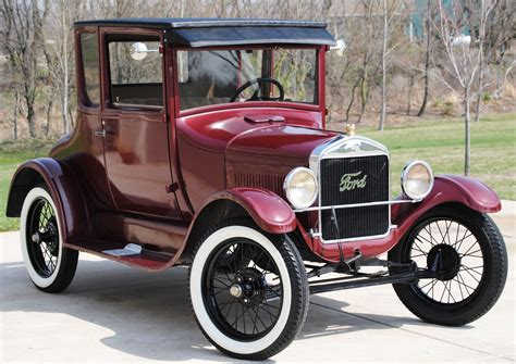 cars beginning with t 1926 model t coupe oldmotorsguy