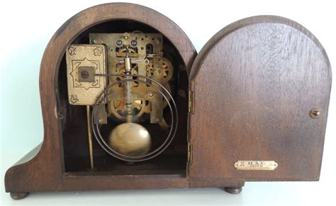 German Kitchen Furniture h a c mantel clock made in wurttemberg collectors weekly
