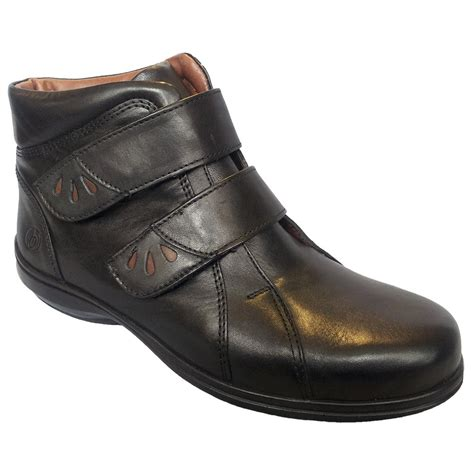 easy b legacy black leather ankle boot 78127b