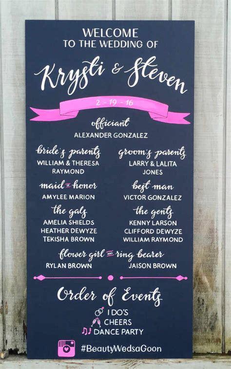 8 Chalkboard Wedding Program Templates Psd Vector Eps Ai Illustrator Download Free Wedding Program Template Illustrator