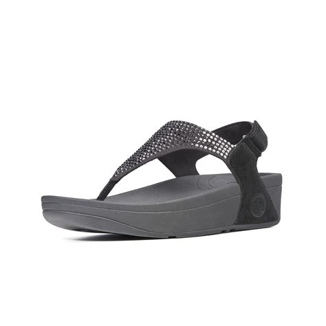 fitflop black sandals fitflop flare sandal black fitflop from nicholas