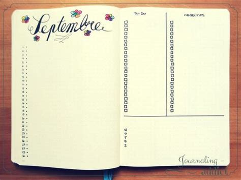 layout for journal intime bullet journal pages de journaux personnels and journal