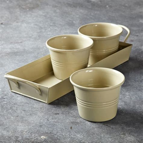 herb pots for windowsill an instant herb garden gardenista