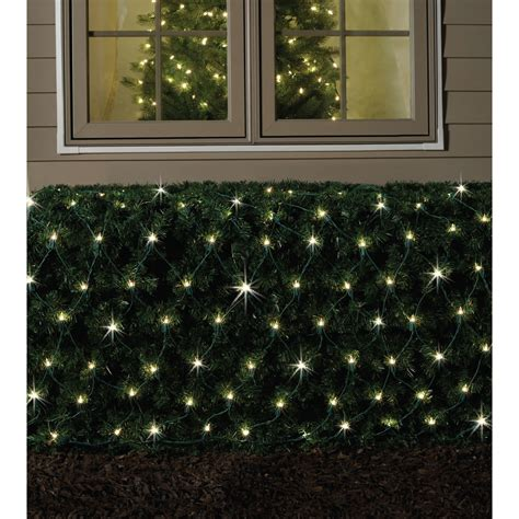 ge 150 random sparkle snowflake christmas lights ge appliances random sparkle net light clear 150 ct