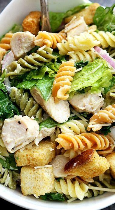 chicken with olive garden dressing chicken caesar pasta salad recipe chicken caesar pasta salad caesar pasta salads and pasta