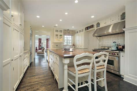 galley kitchen design with island 22 luxury galley kitchen design ideas pictures