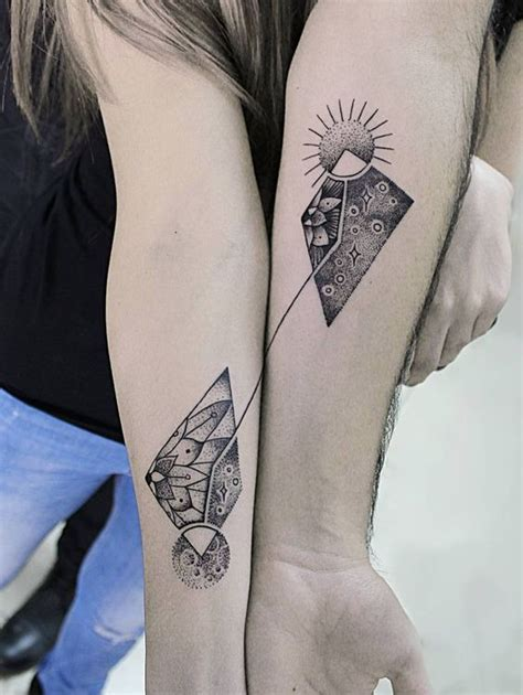 couple tattoos that complete each other best 50 tattoos best tattoos ideas with