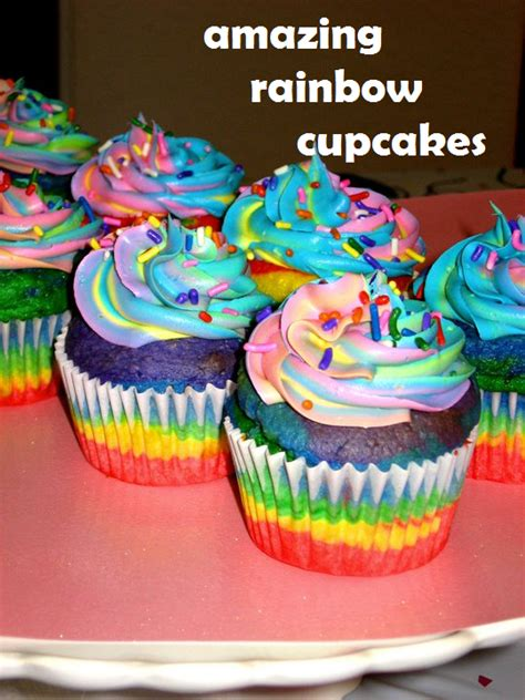 Colorful Creative Cup Lemon amazing rainbow cupcakes the domestic rebel
