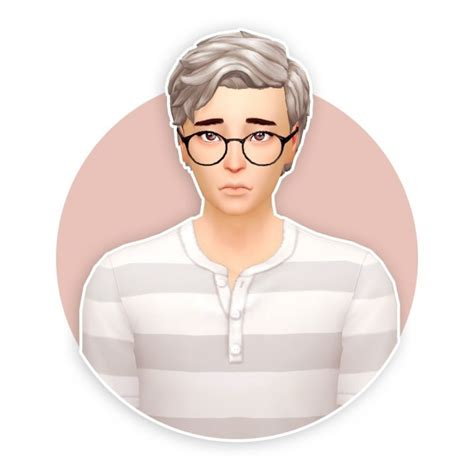 hairstyles to match glasses cosmo hair recolour at seven sims 187 sims 4 updates