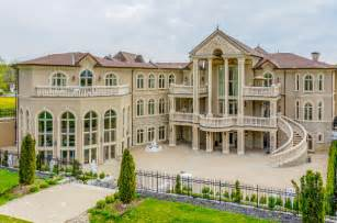 Porte Cochere Plans stately amp ornate 24 000 square foot mega mansion in canada