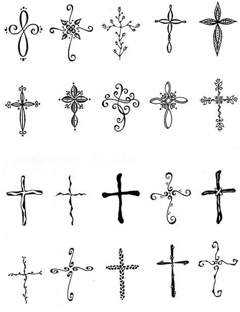 basic cross tattoo smallcross small cross tattooscross tattoos