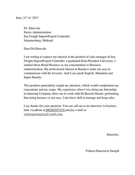 Cover Letter Exles Yahoo Sales Assistant Cover Letter Yahoo Sle Personal Essays For Leaving Cert Cover Letter Sle