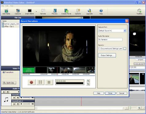 advanced video editing software free download full version videopad video editor download