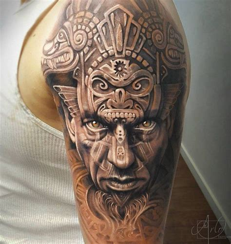 warrior tribal tattoos 25 best ideas about aztec warrior on aztec